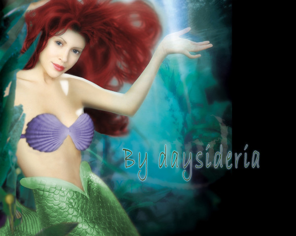 Princess Ariel Alyssa Milano Disney Alyssa Milano as Ariel