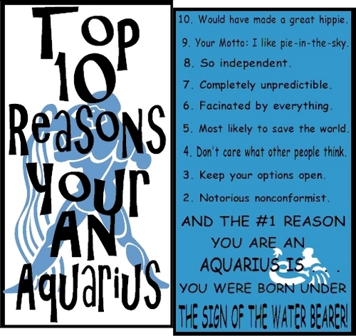 Aquarius - astrology Photo