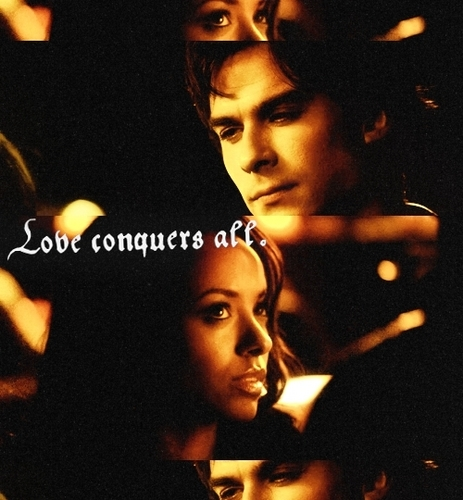 Damon & Bonnie wallpaper called BD <3
