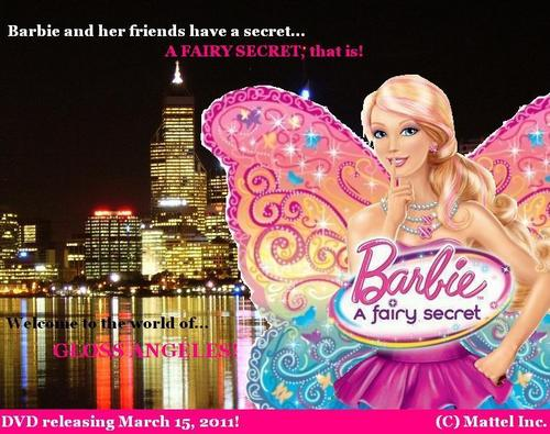 Barbie A FAIRY SECRET - Hintergrund