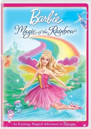 búp bê barbie Fairytopia Magic of the Rainbow- new DVD cover! OMK!