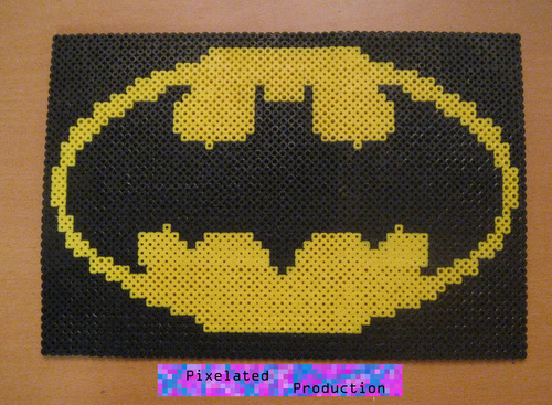 Batman Original Bead Art kwa Pixelated Production