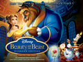 Beauty and the Beast kertas dinding