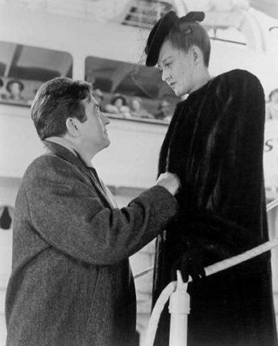 "Bette and Claude Rains in ""Now, Voyager"""