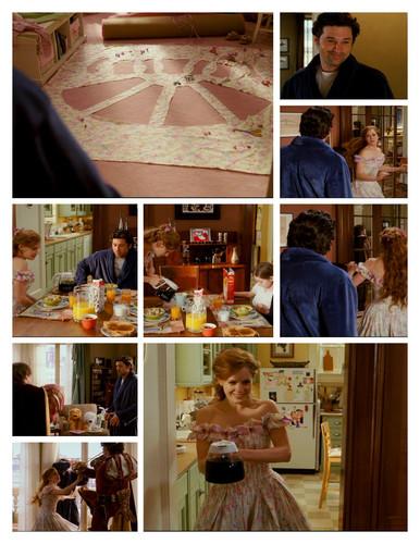 Riselle(Robert/Giselle) 着魔 壁纸 titled Breakfast scene