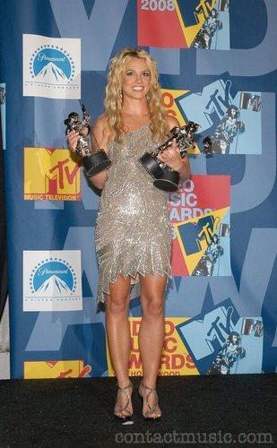 Britney at American 音楽 Awards,2008