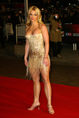 Britney at NRJ Music Award Januar 2004,France