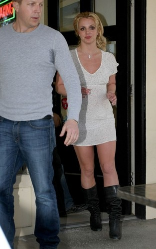 Britney out in West Hollywood