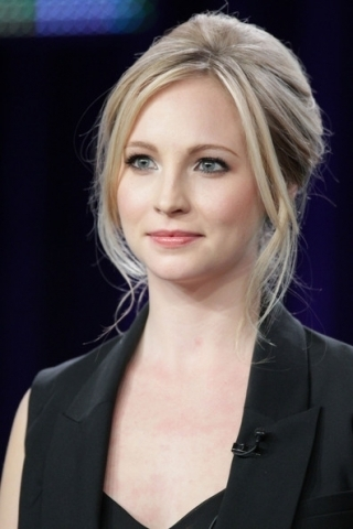 Candice Accola @ 2011 Winter TCA Tour