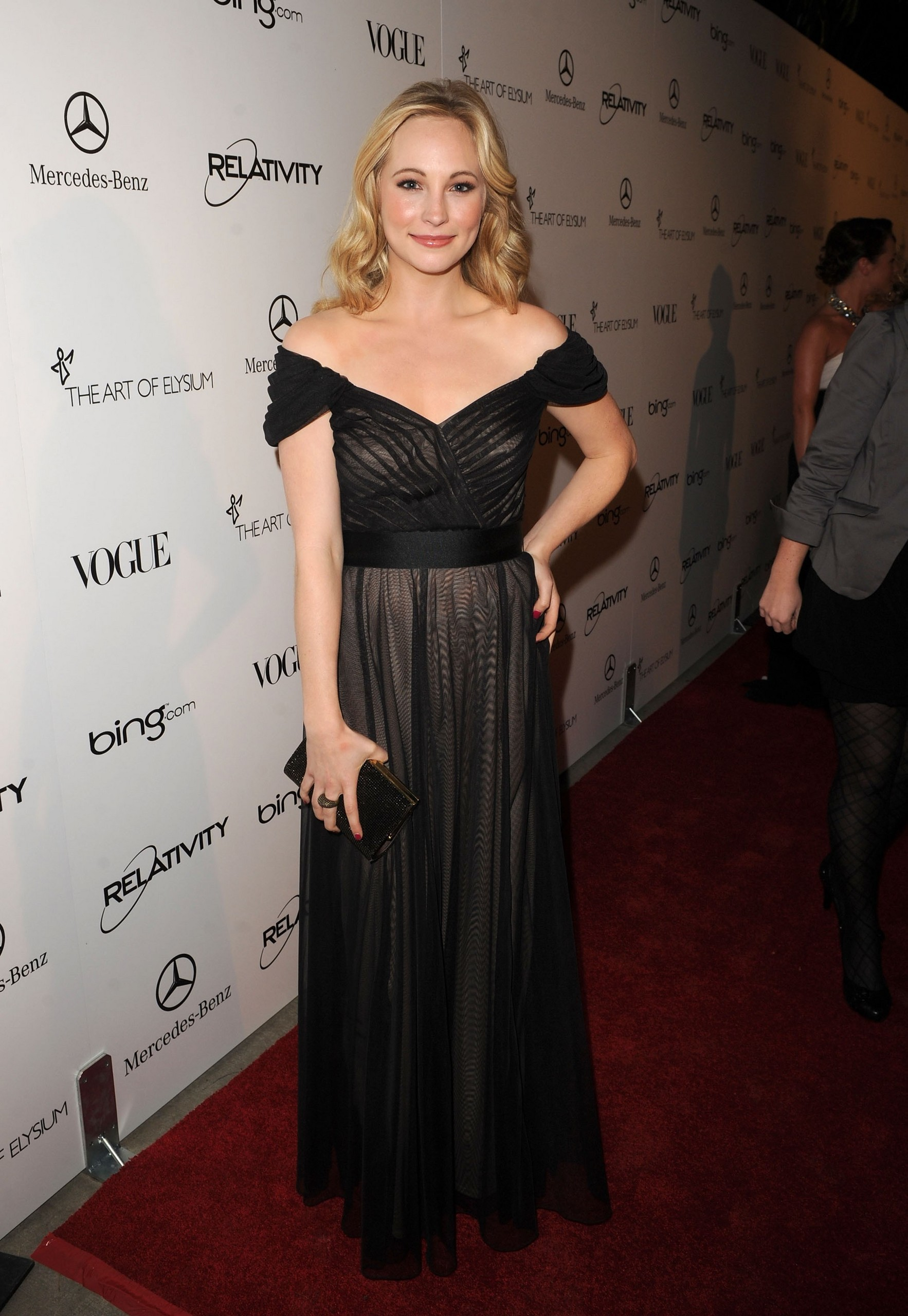 Candice Accola attends the 2011 Art of Elysium 'Heaven' Gala. (HQ) - the-vampire-diaries-tv-show photo
