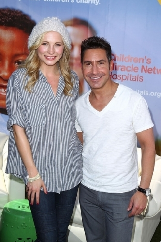 Candice at 'The Giving Lounge' - [13/01/11]