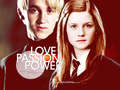 D/G Wallpaper: Love, Passion, Power - draco-and-ginny wallpaper