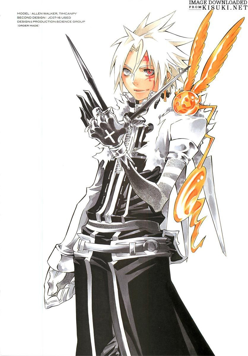 D gray man photo 18462052 fanpop - D gray man images ...