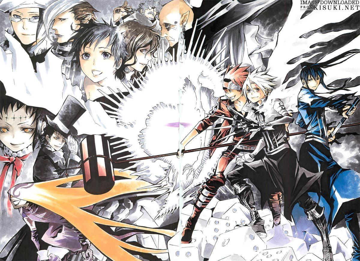 D Gray Man Anime Characters : D gray man images hd wallpaper and background