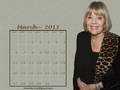 Diana - March 2011 (calendar) - diana-rigg wallpaper