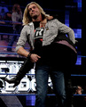 Edge , Dolph Ziggler and Vickie Guerrero