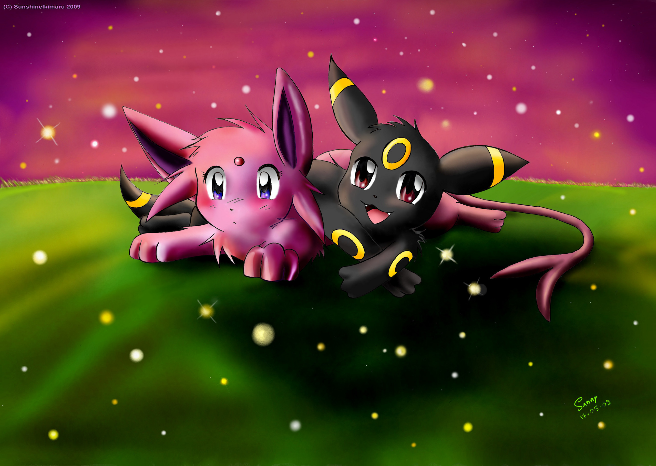umbreon and espeon hd -#main