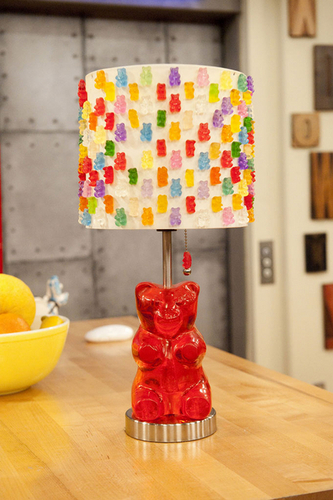 Gummy madala lamp