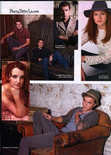 HP cast in Magazines