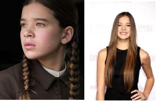 Hailee Steinfeld as Katniss?