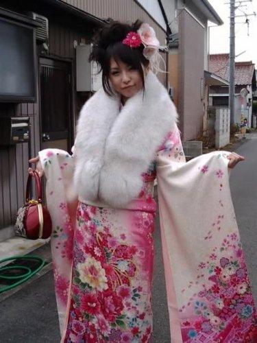 Haruna in chimono, kimono X3