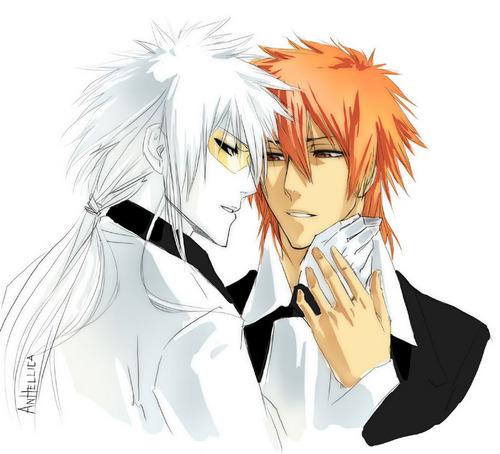 Ichigo and Hollow Ichigo