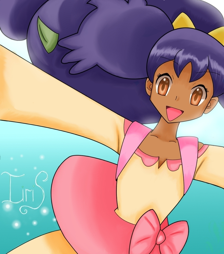 iris pokemon