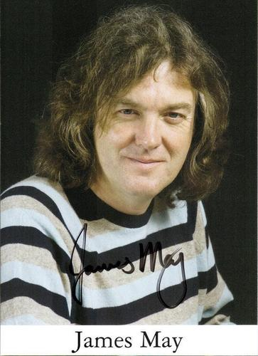 James May's autograph!