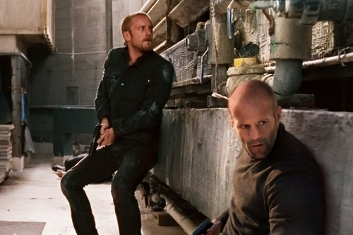 Jason Statham wolpeyper containing a kalye titled Jason & Ben Foster in The Mechanic