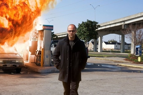 Jason Statham wallpaper containing a street, a business suit, and a jalur lalu lintas titled Jason in The Mechanic