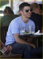 Joe Jonas & Winston: Lunch with Honor Society (January 15) - joe-jonas photo