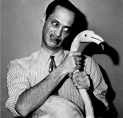 John Waters (back and white format)