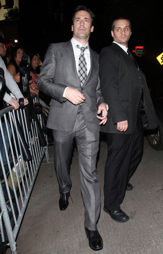 Jon Hamm Arriving At The chateau, schloss Marmont Hotel