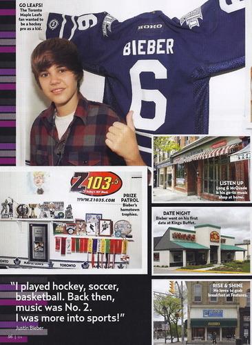 Justin Bieber - Us Magazine