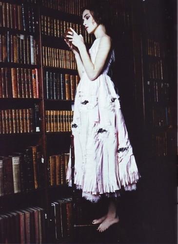 Keira | Shoot for Vogue Italia.
