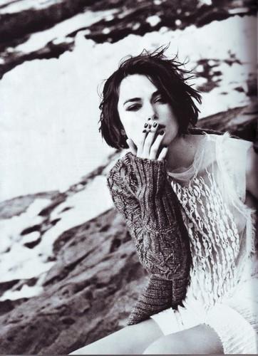 Keira   Shoot for Vogue Italia.