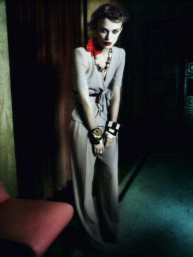 Keira | Shoot for Vogue UK.