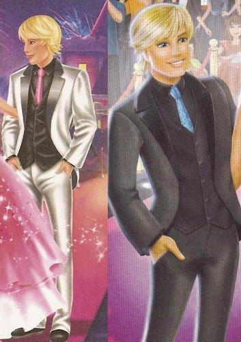 Ken's Glitter Ties!