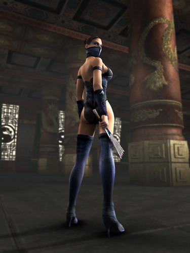 Kitana - Mortal Kombat - female-ass-kickers Photo
