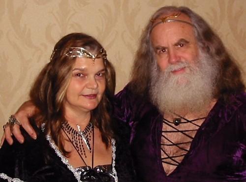 Lady Morning Glory and Oberon Zell Ravenheart