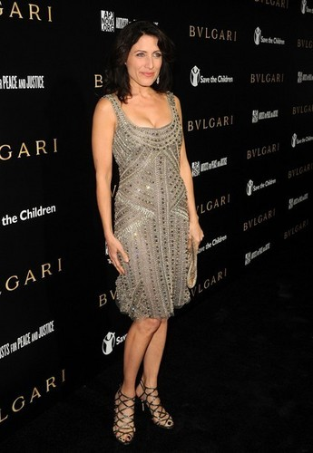 Lisa Edelstein @ the Bvlgari Private Event Honoring Simon Fuller and Paul Haggis