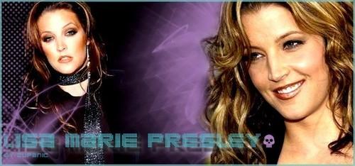 Lisa Marie Presley Banner