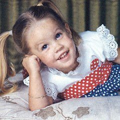 lisa marie presley wallpaper probably with a neonate and a portrait titled Lisa Marie Presley