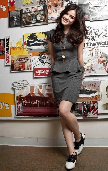 Lucy Hale Vans Girl Photoshoot