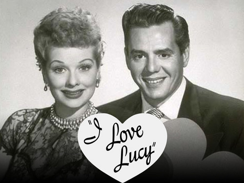 Lucy and Ricky cœur, coeur