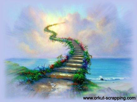 Magic 階段の吹き抜け, 階段