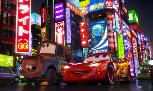 Mater and Lightning in Tokyo :D