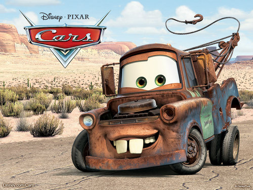 Mater the Tow Truck wallpaper called Mater the tow truck wallpapers