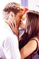 Meredith & Alaric Kiss