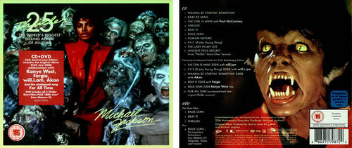 Michael Jackson 25th Aniversery CD Cover
